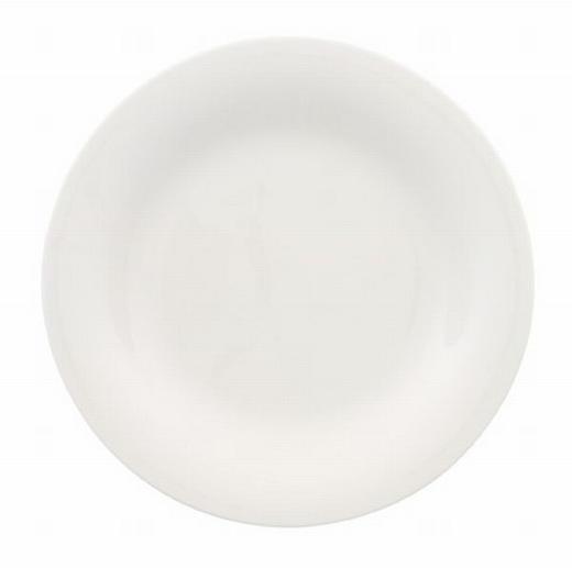 TELLER Keramik Porzellan - Weiß, Basics, Keramik (23cm) - Villeroy & Boch