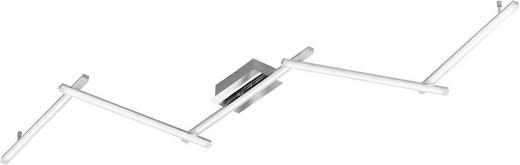 LED-STRAHLER - Chromfarben, Design, Metall (220/9/11cm)