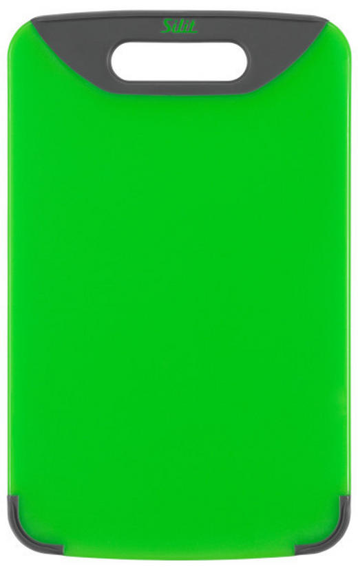 SCHNEIDEBRETT Kunststoff - Grün, Basics, Kunststoff (20/32cm) - Silit