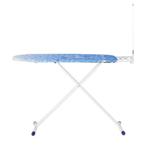 BÜGELBRETT - Blau, Basics, Textil (38/120cm) - Leifheit