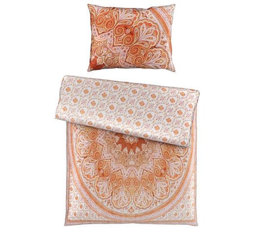 BETTWÄSCHE 140/200 cm  - Terra cotta/Orange, KONVENTIONELL, Textil (140/200cm) - Esposa