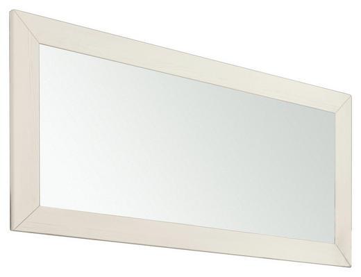 WANDSPIEGEL Weiß - Weiß, Design, Holzwerkstoff (124,8/60/2cm) - Set one by Musterrin