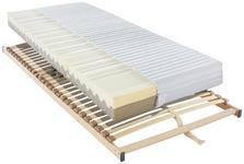 MATRATZENSET 90/200 cm  - Braun, Basics, Holz (90/200cm) - Sleeptex