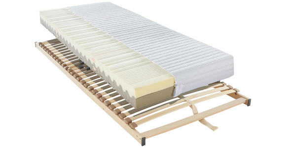 MATRATZENSET 140/200 cm  - Braun, Basics, Holz (140/200cm) - Sleeptex