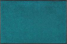 FUßMATTE 40/60 cm Petrol  - Petrol, Basics, Kunststoff/Textil (40/60cm) - Esposa