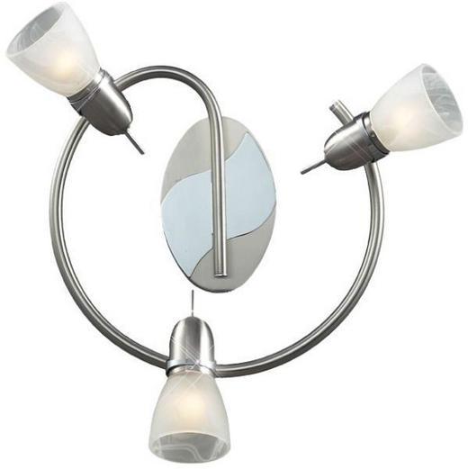 STRAHLER - Nickelfarben, KONVENTIONELL, Glas/Metall (47cm) - Boxxx