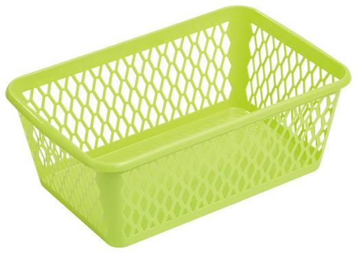 KOŠARA - zelena, Konvencionalno, plastika (30/11/20cm) - Plast 1