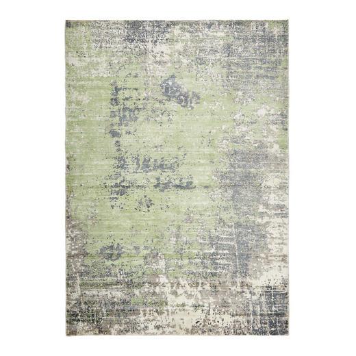 VINTAGE-TEPPICH  90/160 cm  Olivgrün - Olivgrün, Design, Weitere Naturmaterialien (90/160cm) - Esposa