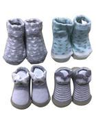 PONOŽKY - vícebarevná, Basics, textil (10cm) - My Baby Lou