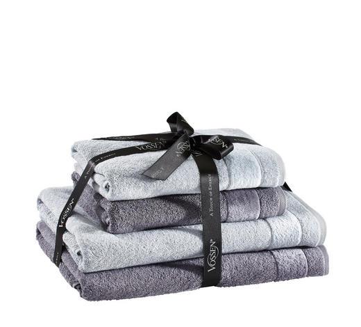 SADA FROTÉ - barvy stříbra/tmavě šedá, Basics, textilie - Vossen