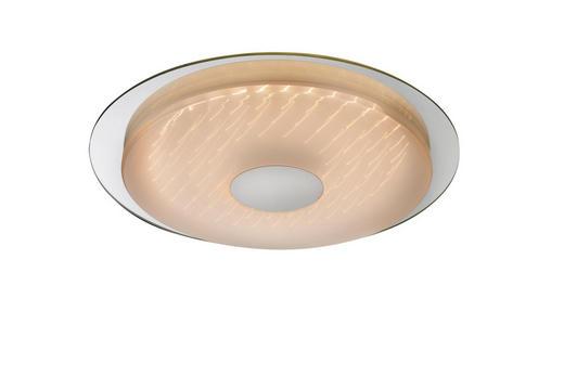 LED-DECKENLEUCHTE - MODERN, Glas/Kunststoff (45/5cm)