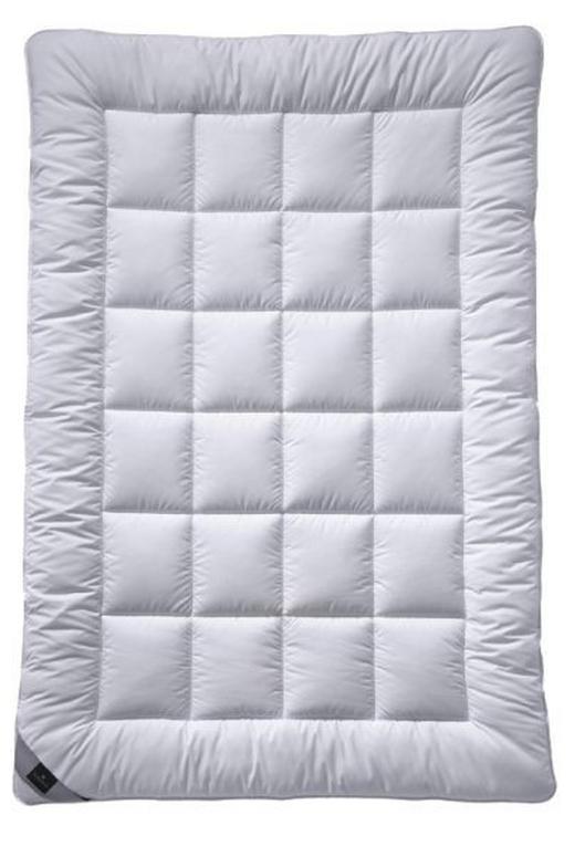 WINTERDECKE 135/200 cm - Weiß, Basics, Textil (135/200cm) - Billerbeck