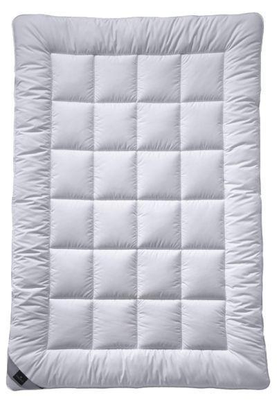 ZIMSKA PREŠITA ODEJA ALCANDO - bela, Konvencionalno, tekstil (135/200cm) - Billerbeck