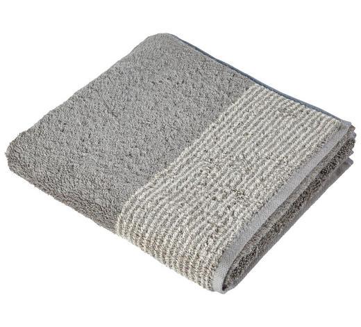 HANDTUCH 50/100 cm - Graphitfarben, KONVENTIONELL, Textil (50/100cm) - Cawoe