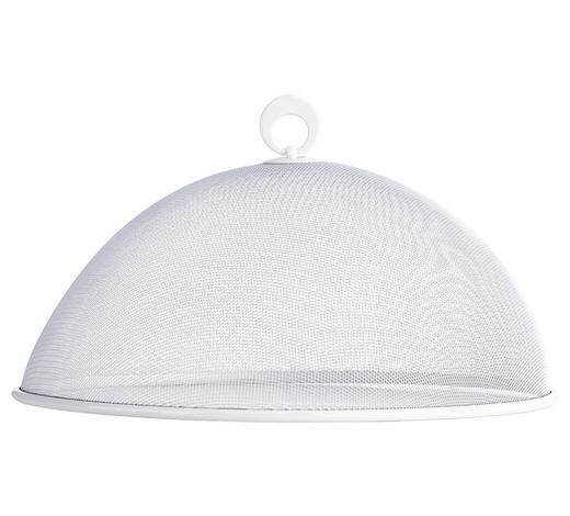SPEISEHAUBE - Weiß, Basics, Metall (35cm) - Homeware