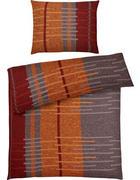 POSTELJNINA - oranžna/rjava, Design, tekstil (140/200cm) - Esposa