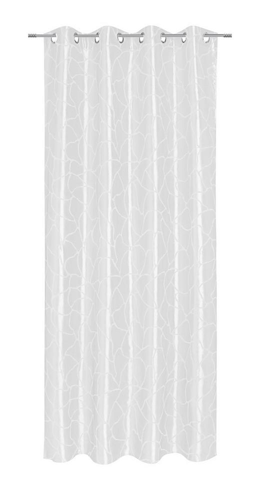 ÖSENSCHAL  blickdicht  140/245 cm - Naturfarben, KONVENTIONELL, Textil (140/245cm) - Esposa