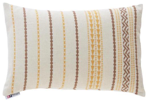 ZIERKISSEN - Goldfarben/Braun, LIFESTYLE, Textil (40/60cm) - David Fussenegger