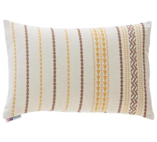 ZIERKISSEN 40/60 cm - Goldfarben/Braun, LIFESTYLE, Textil (40/60cm) - David Fussenegger