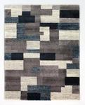 WEBTEPPICH  80/150 cm  Grau, Petrol   - Petrol/Grau, KONVENTIONELL, Textil (80/150cm) - Novel