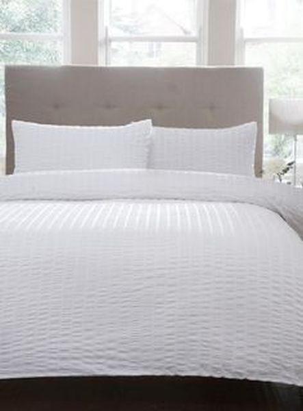 LANCUN - bijela, Konvencionalno, tekstil (220/260/2X60/80cm)
