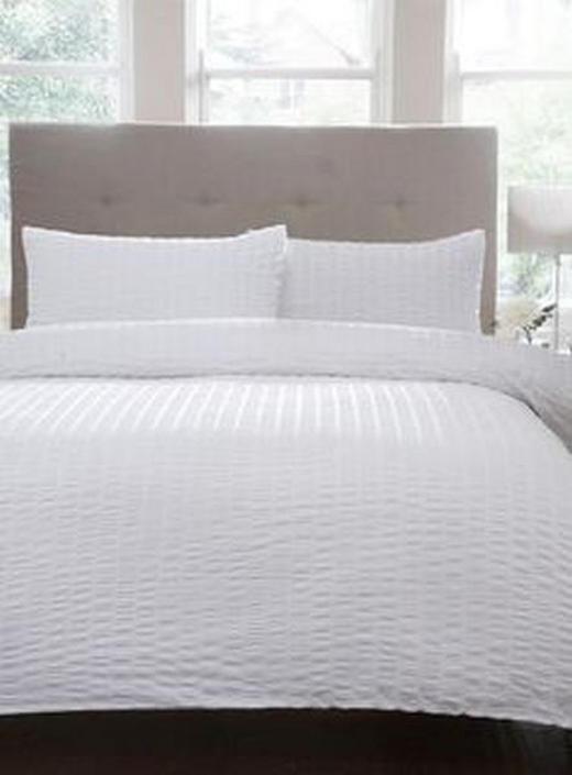 NAVLAKA ZA POPLUN - bijela, Konvencionalno, tekstil (140/200cm)