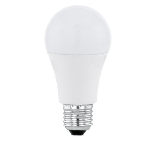 LED-LEUCHTMITTEL  E27 12 W  - Weiß, Basics, Glas (12cm) - Homeware