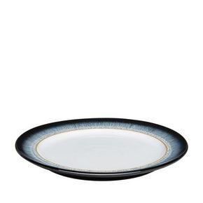 MATTALLRIK - vit/brun, Basics, keramik (28cm) - Denby