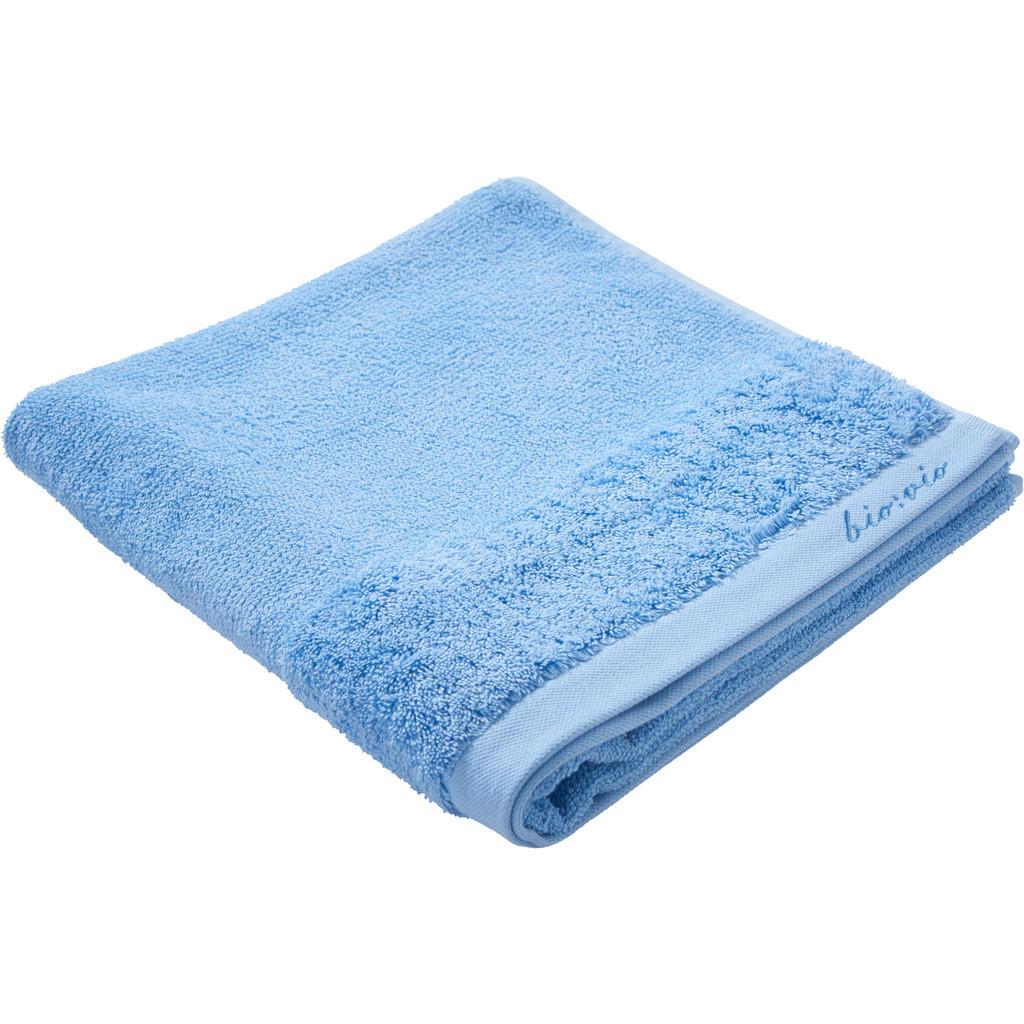 Image of Bio:Vio Duschtuch 70/140 cm , Bonita , Blau , Textil , Uni , 70 cm , Frottee , saugfähig, hochwertige Qualität, schadstoffgeprüft , 004417004208