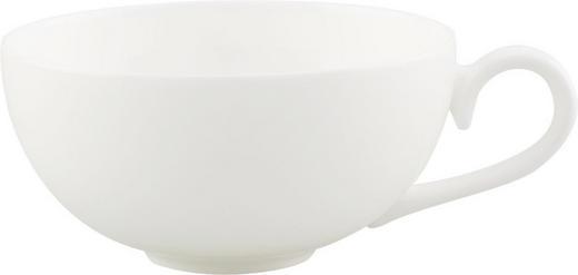 TEETASSE 230 ml - Weiß, KONVENTIONELL, Keramik (0,23l) - Villeroy & Boch