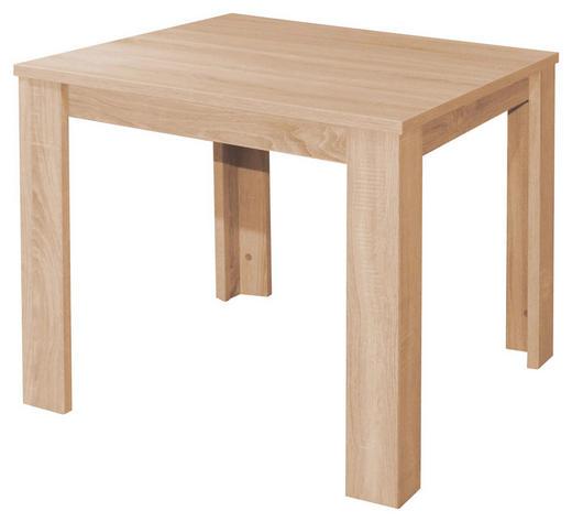 ESSTISCH quadratisch Eichefarben - Eichefarben, Design, Holzwerkstoff (80/80/76cm) - Carryhome