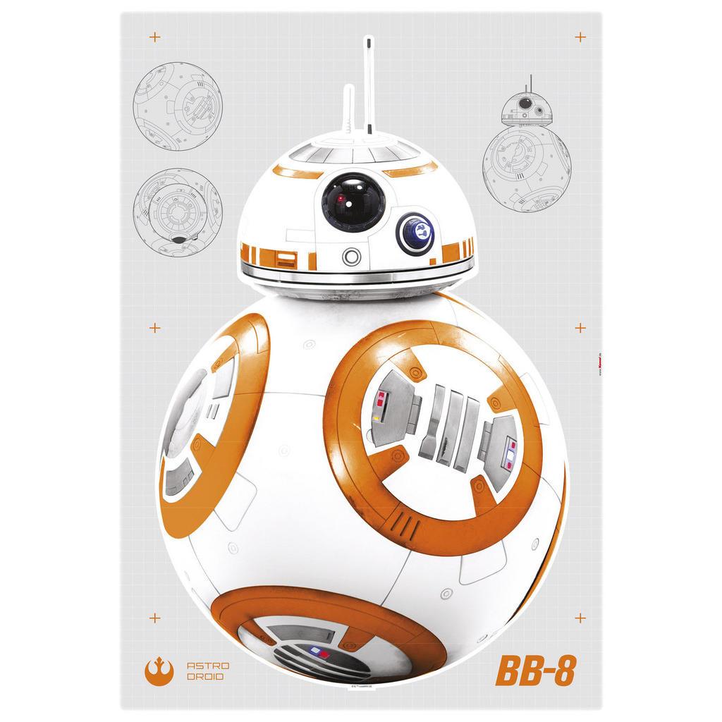 Komar Dekosticker Star Wars Bb-8