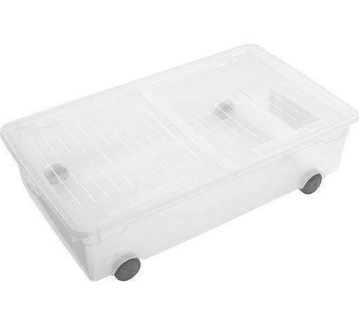 UNTERBETTROLLER 70,5/40/19,5 cm  - Transparent, KONVENTIONELL, Kunststoff (70,5/40/19,5cm) - Rotho