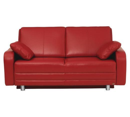 Schlafsofa In Leder Rot Online Kaufen Xxxlutz