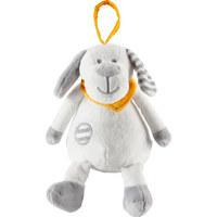 SPIELUHR - Weiß/Grau, Basics, Textil (14cm) - My Baby Lou