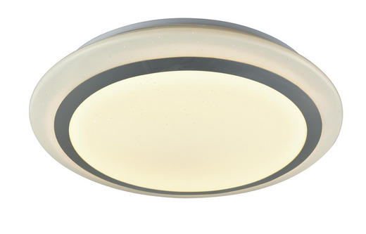 LED-DECKENLEUCHTE - Weiß, Basics, Kunststoff/Metall (40//cm) - Novel