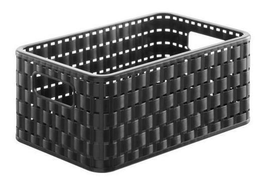 KORB - Schwarz, Basics, Kunststoff (28/18.5/12.6cm)