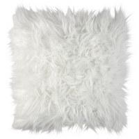 FELLKISSEN  - Weiß, KONVENTIONELL, Textil (45/45cm) - Ambia Home