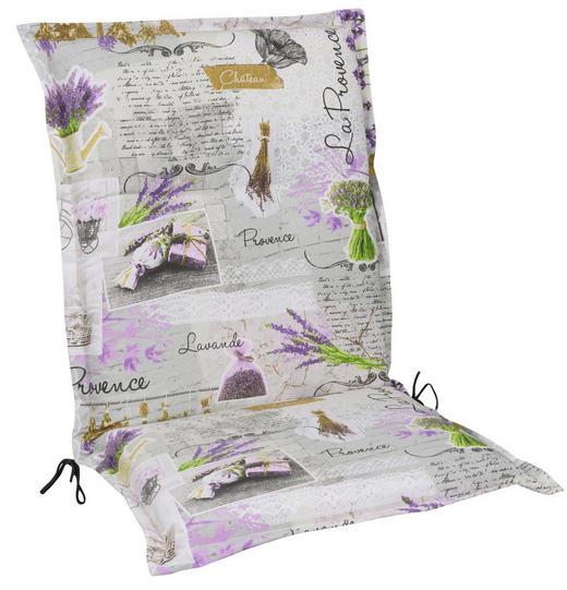 SESSELAUFLAGE Floral - Multicolor, LIFESTYLE, Textil (50/110/9cm)