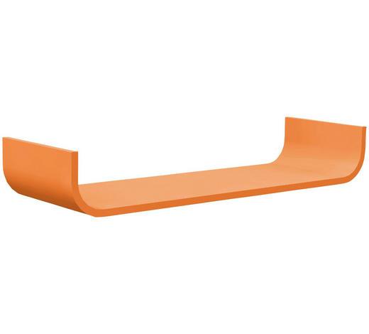WANDBOARD Birke massiv Orange - Orange, Design, Holz (80/12/25cm) - Carryhome
