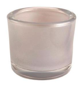 LJUSLYKTA - grå, Design, glas (6,5/5,7cm)