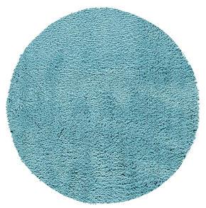 BADRUMSMATTA - turkos, textil/plast (60/60/10cm)