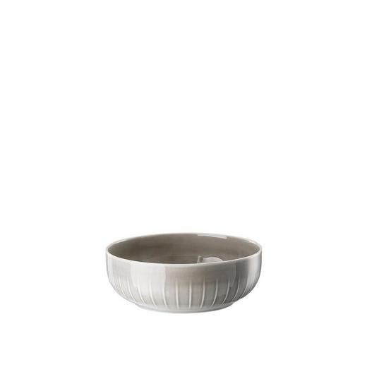 SCHALE Keramik Porzellan - Grau, Basics, Keramik (16/6cm)