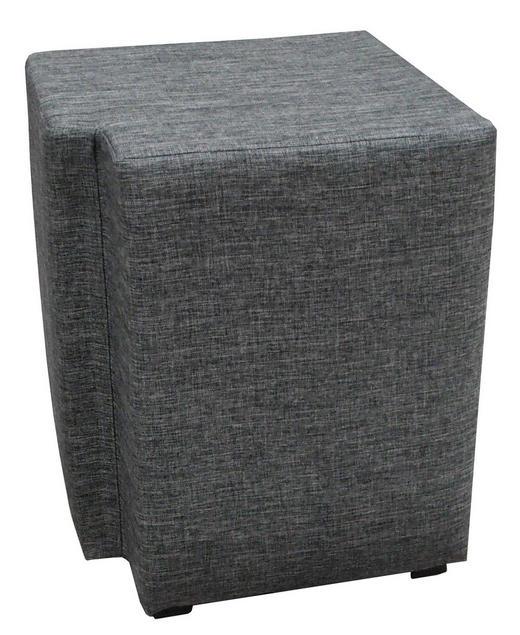 NACHTKÄSTCHENSET Flachgewebe Grau - Schwarz/Grau, Design, Kunststoff/Textil (40/50/40cm) - Carryhome