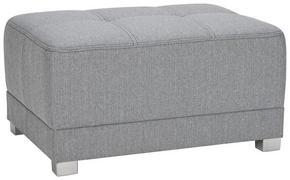 PALL - ljusgrå/silver, Design, textil/plast (80/41/60cm) - Xora