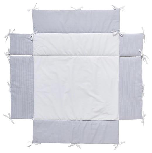 LAUFGITTEREINLAGE PEPITKO - Weiß/Grau, Basics, Textil - My Baby Lou