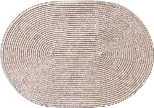 TISCHSET - Creme, Basics, Textil (48/33cm)