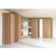 SCHRANKSYSTEM in - Eichefarben/Mooreichefarben, Design, Holz/Holzwerkstoff - Visionight