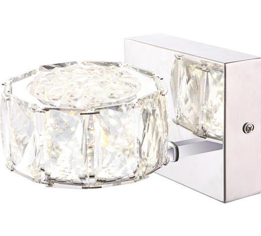 LED-WANDLEUCHTE - Design, Glas/Kunststoff (12/17/10cm)