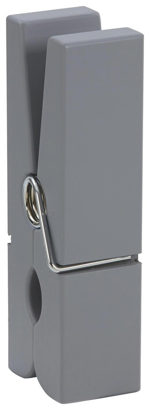 CLIP - Grau, Basics, Holz/Metall (7/20/5cm)